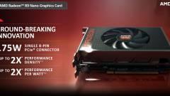 Előkerültek a Radeon R9 Nano specifikációi kép