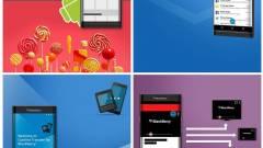 Ilyen lesz az androidos BlackBerry kép