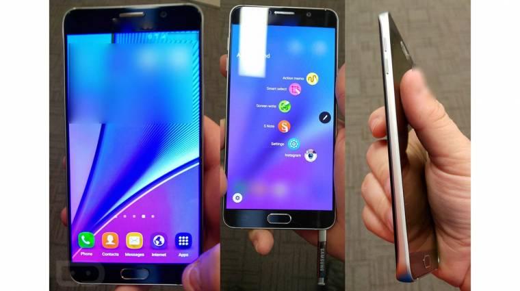 Lencsevégen a Samsung Galaxy Note 5 kép