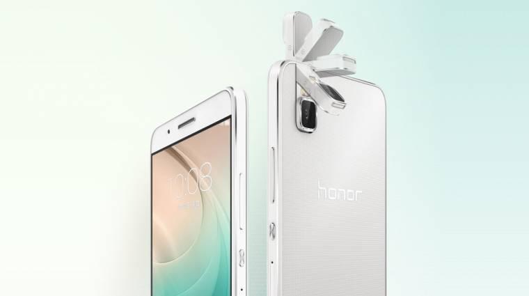 Elforgatható kamera a Huawei mobiljában kép