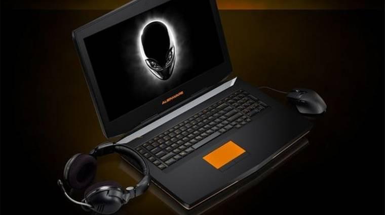 Ütős lett az Alienware 18 gamer laptop kép