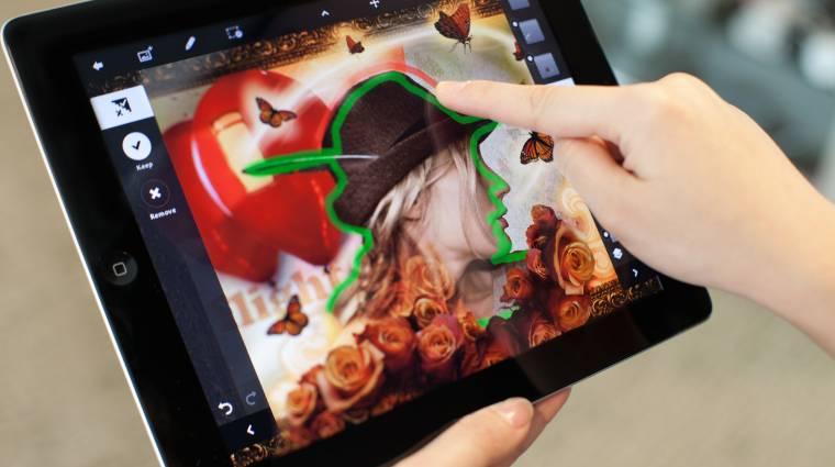 Ingyenes és menő lesz az iOS-es Photoshop kép