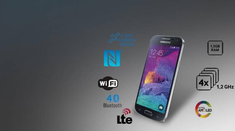 Piacra került a Samsung Galaxy S4 Mini Plus kép