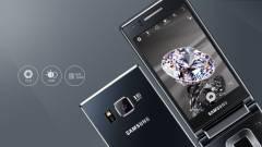 Kétkijelzős kagylómobil a Samsungtól kép