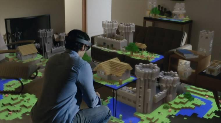 Hamarosan a fejlesztőknél a Microsoft szuper szemüvege kép