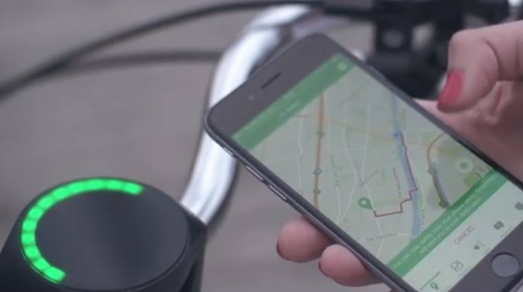 Csak egy SmartHalo kell a bicikli felokosításához kép