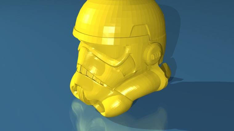Ilyen egy 3D-nyomtatott Star Wars-csocsó kép
