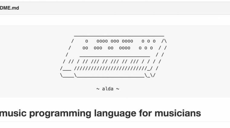Így lehet szövegszerkesztőben zenét programozni kép