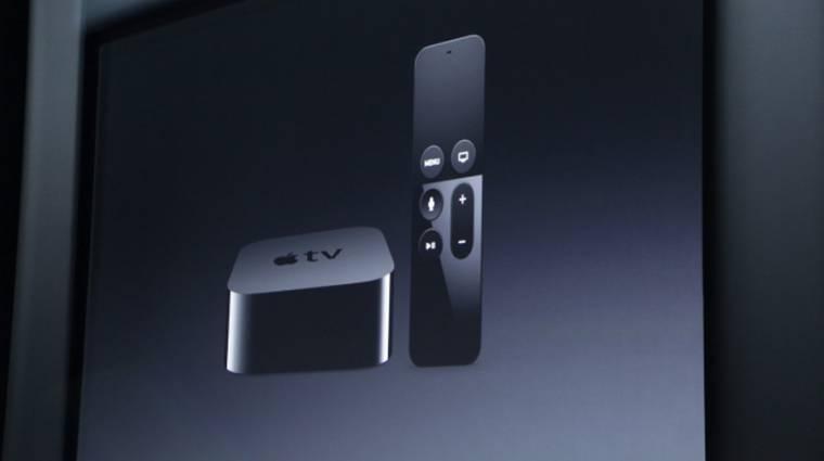 Itt az új Apple TV, és konzolnak is jó kép
