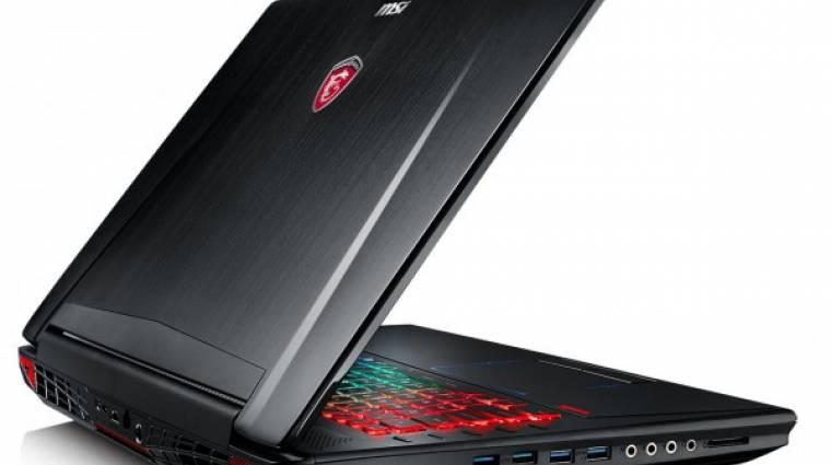 GeForce GTX 980 van az MSI új laptopjában kép