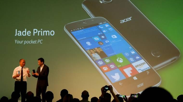 Egyben Windows 10-es PC és okostelefon az Acertől kép