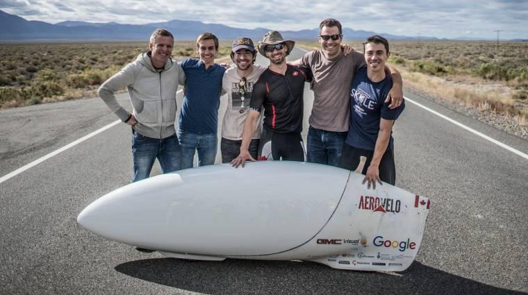 Közel 140 km/h sebességgel is lehet tekerni kép