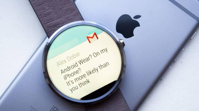 Már iPhone-nal is lehet androidos okosórád kép