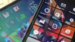 Többé nem fut az Android a Windows 10 Mobile-on kép