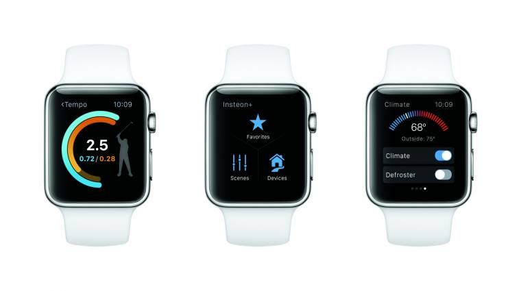 Hivatalos az Apple Watch OS 2 kép