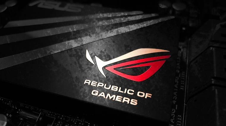 Asztalon zúz az új ROG gamer PC kép