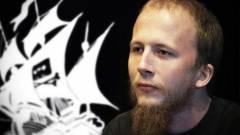 Szabadlábon a The Pirate Bay társalapítója kép