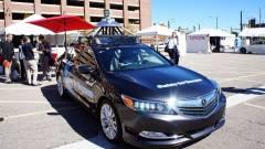 A Honda is sofőr nélküli autót tesztel kép