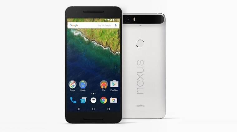 Hivatalos a Huawei Nexus 6P csúcsmobil kép
