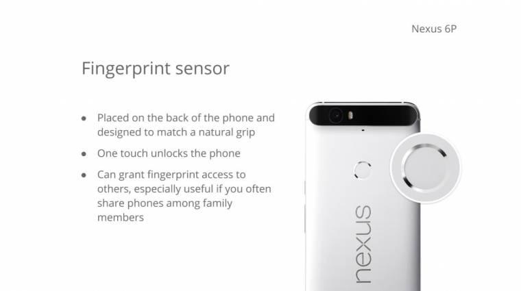 Minden kiszivárgott a Huawei Nexus 6P-ről kép