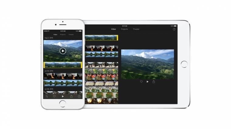 4K-s videókat is szerkeszt az új iMovie kép