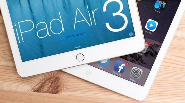 Ilyen lehet az iPad Air 3 kép