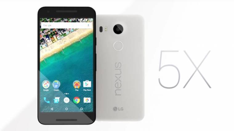 Erős középkategóriás lett az LG Nexus 5X kép