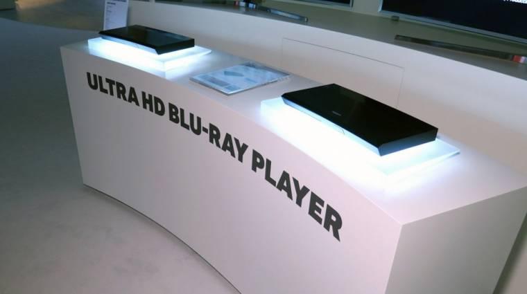 A Samsungé a világ első 4K-s Blu-Ray lejátszója kép
