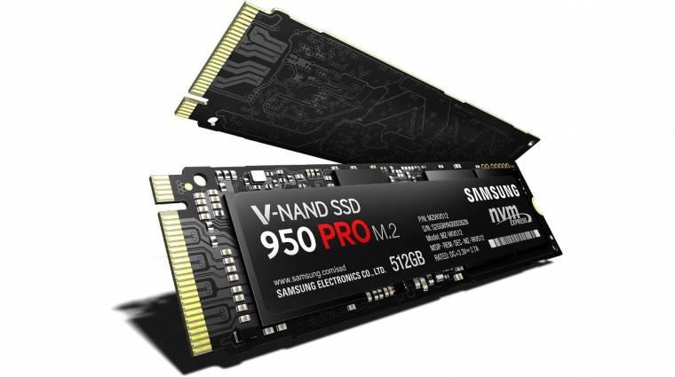 Brutál sebességre képes a Samsung 950 Pro SSD kép