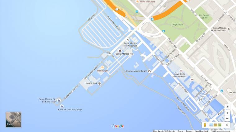 A Google-nél elsüllyedt Los Angeles kép