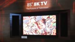 Ennyibe kerül a világ első 8K-s tévéje kép