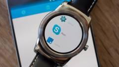 Már az Android Weart is támogatja a Skype kép