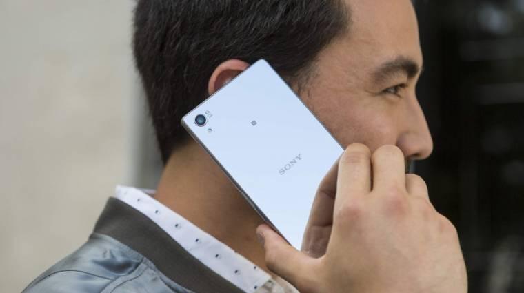Világelsőként 4K kijelzős a Sony Xperia Z5 Premium kép