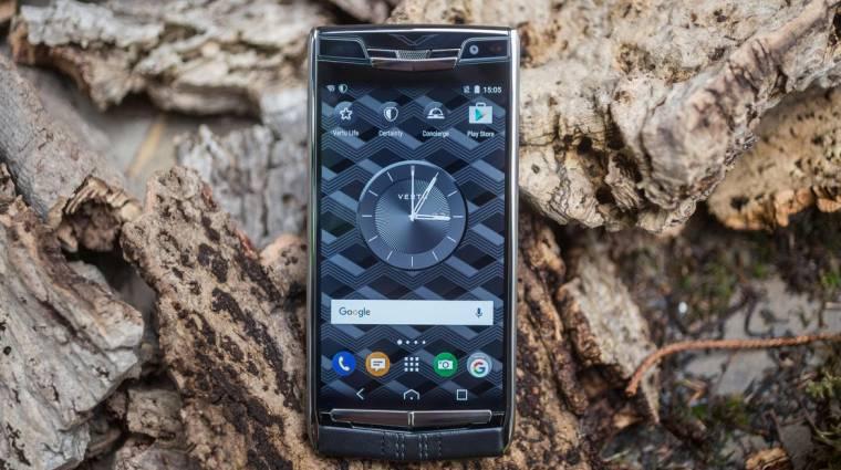 Végre nem csak nehezék a Vertu méregdrága okostelefonja kép