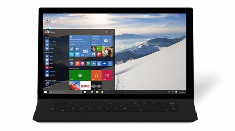 Csak 512 elemet kezel a Windows 10 Start menüje kép