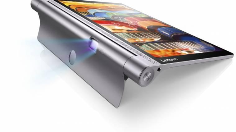 70 hüvelykes képet vetít a Lenovo Yoga Tab 3 Pro kép