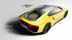 Saját drónja van az önvezető sportautónak kép