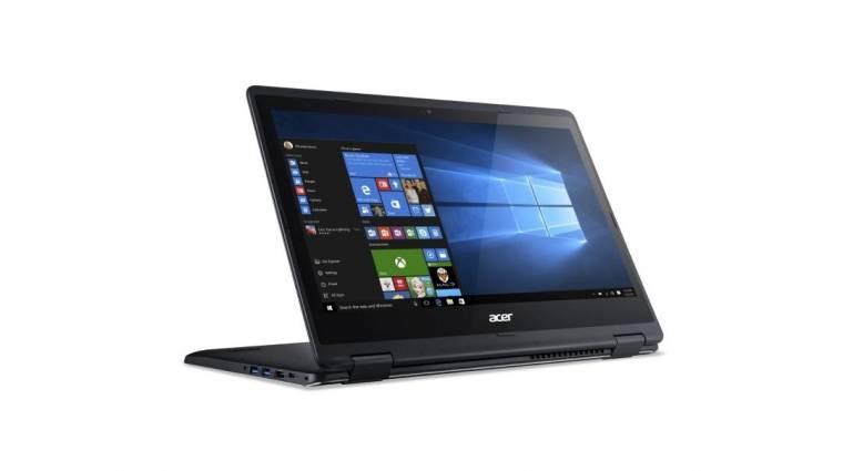 Átalakítható laptoppal frissített az Acer kép