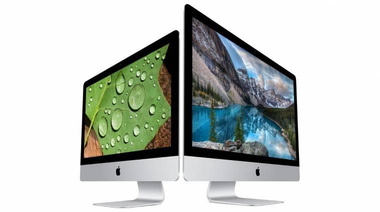 Frissültek az Apple iMac számítógépek kép