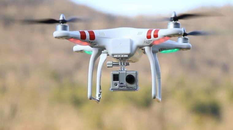 Ilyen videót lő a GoPro drónja kép