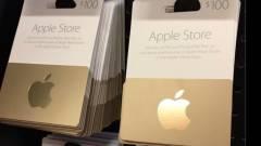 1 millió dollárnyi Apple ajándékkártyát lopott kép