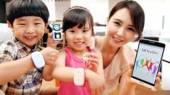 LG KizON: nyomkövetős karkötő gyermekeknek kép