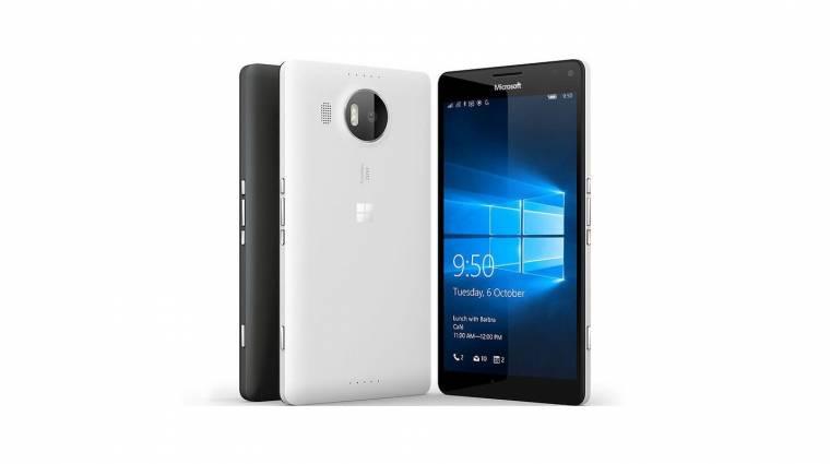 Európába lépett a Microsoft Lumia 950 XL kép