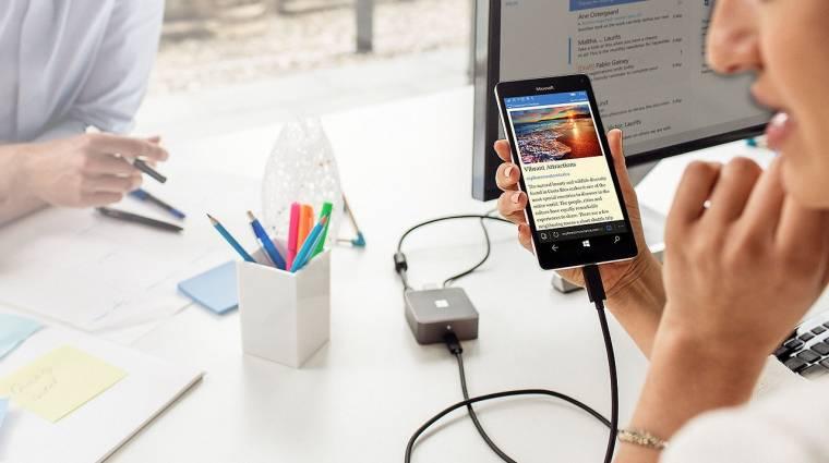 Videó: így lesz PC a Windows 10-es mobilból kép