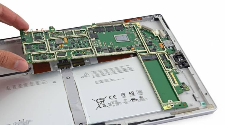 A Surface Pro 4 táblagépet sem kell javítani kép