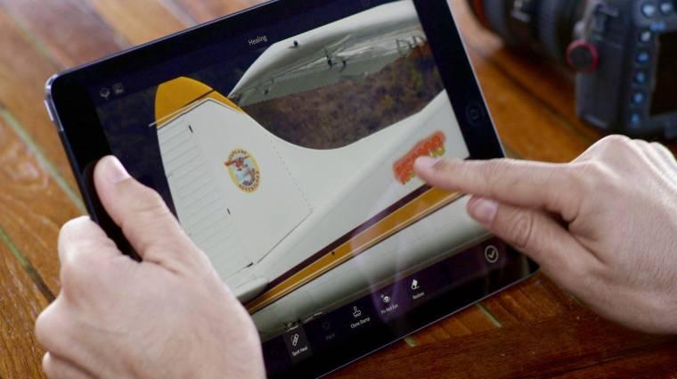 Ingyen használható a mobilos Photoshop Fix kép