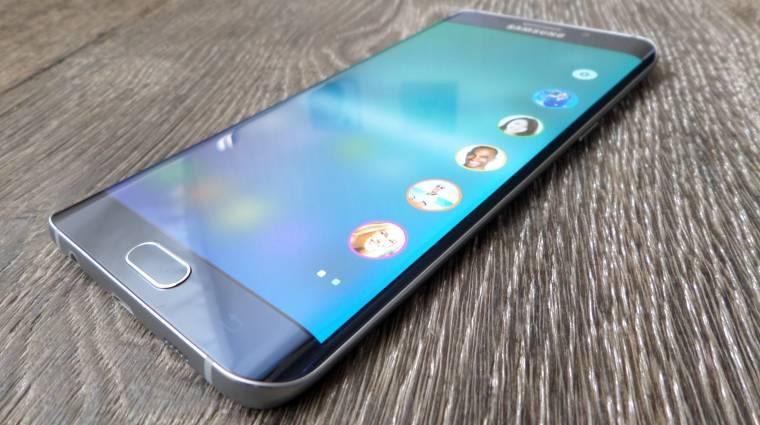 Itt a Samsung Galaxy S6 edge+ első frissítése kép