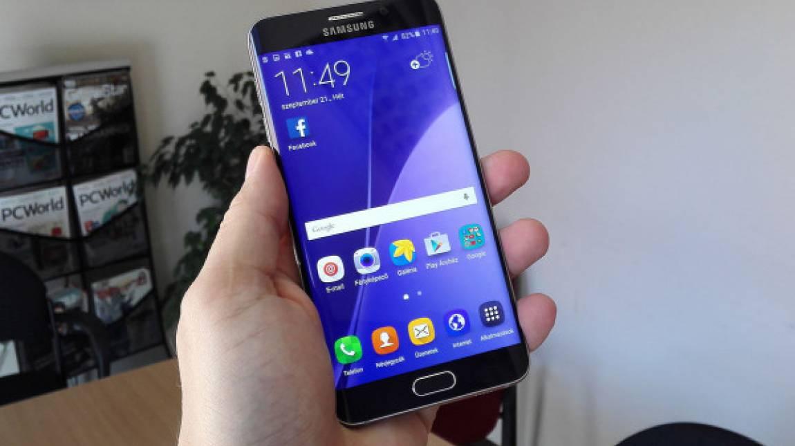 Samsung Galaxy S6 Edge+ teszt - Kis plusz kép