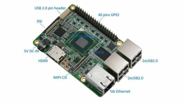 Intel Atom X5 kerülhet az UP minigépre kép