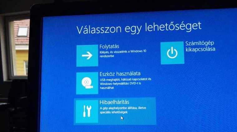 Fagy a Windows 10? Segítünk. kép
